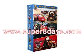 cars 1 3 dvd collection 3dvd disney dvd cartoon movies dvd
