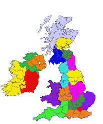 British Isles Map Blank by British Isles Dna Project Blog Let U0027s Consider The Regions
