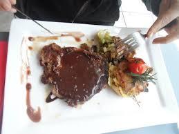 l esprit cuisine pièce de boucher sauce échalottes picture of l esprit gourmand