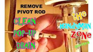 bathroom delta sink stopper removal pop up basin plug kohler