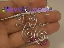 wire earrings diy wire earrings