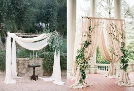 wedding backdrop tree easy diy backdrops