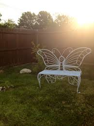Butterfly Patio Furniture by Butterfly Bench U2013 The Rose Table