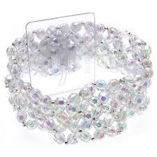 corsage bracelet narrow iridescent corsage bracelet artificial floral supplies