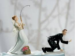 fishing wedding cake toppers if you re bored with the ordinary toppers check these