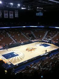 Mohegan Sun Arena Floor Plan Mohegan Sun Arena Section 120 Home Of Connecticut Sun New