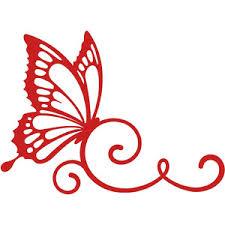 silhouette design store view design 128912 butterfly swirl