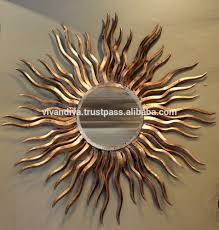 list manufacturers of gujarat handicrafts items buy gujarat crack resistance iron sun mirror for home decoration handicraft item from jodhpur india