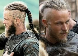 why did ragnar cut his hair travis fimmel als ragnar lothbrok the vikings staffel hair