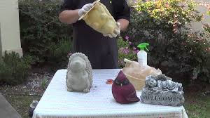 make concrete statues with rubber molds part 2 proper