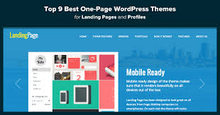 top 12 best one page wordpress themes for landing pages u0026 profiles