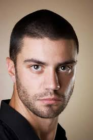 mens short hairstyle with short beard super short hairstyles 2013