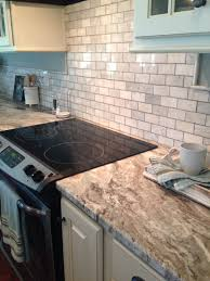 fantasy brown granite and marble tile sheet backsplash our new