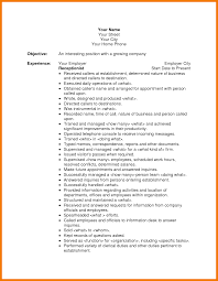 Resume Templates For Receptionist Salon Resume Hair Stylist Resume Objective Job And Resume