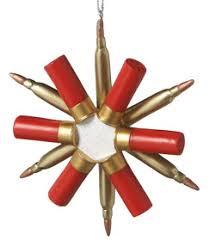 shotgun shell snowflake ornament cf 800 shotgun shell