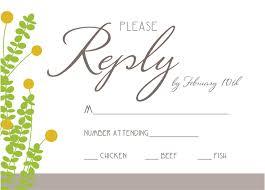 wedding rsvp wording exles wedding invitations rsvp wording exles wedding response card