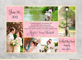 39 best collage photo wedding thank you cards images on
