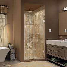 30 Shower Door Dreamline Unidoor 30 In X 72 In Frameless Hinged Pivot Shower