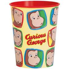 16 oz curious george plastic cup walmart