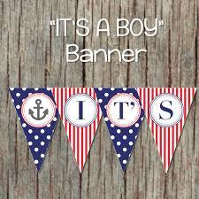Nautical Baby Shower Decorations - it u0027s a boy printable nautical baby by bumpandbeyonddesigns on