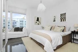 White And Cream Bedding Glamours Home Decorating Storage For Bedroom Featuring Modern