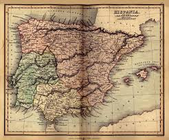 Spain On A Map Spain Maps Perry Castañeda Map Collection Ut Library Online