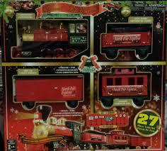 pole express christmas train set 27 pc walmart com