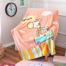 sofa franzã sisch angenehm weiche karikatur nette französisch blanket giraffe