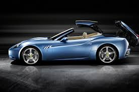 cars ferrari blue 2018 ferrari portofino waves goodbye to california automobile