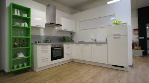 white and green kitchen by burger bauformat german kitchens