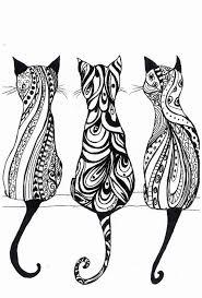25 cat mandala ideas cat tattoos black