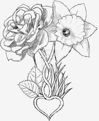 flowers drawings tattoos many flowers