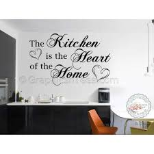 Wall Stickers For Kitchen by Kitchen Is The Heart Of The Home Family Wall Sticker Kitchen