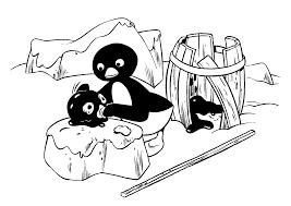 pingu coloring pages kids n fun 20 coloring pages of pingu free
