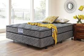 slumber support classic bed by sleepmaker harvey norman