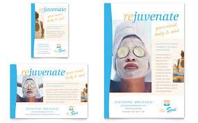 beauty spa flyer u0026 ad template word u0026 publisher