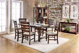 wallis table cm3463t furniture of america casual dining sets at