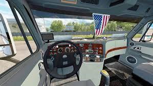freightliner cascadia warning lights freightliner cascadia truck mod mod for european truck simulator