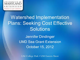 Seeking Vost Watershed Implementation Plans Seeking Cost Effective Solutions