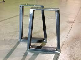 Bar Height Table Legs Bench Bench Leg Heavy Duty Steel Bench Legs Leg Attachment For