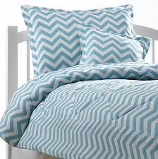 Turquoise Chevron Duvet Cover Girly Blue Chevron Duvet Set U2013 American Made Dorm U0026 Home