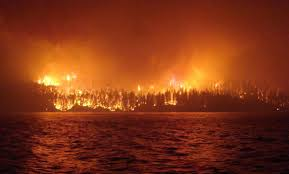 Wildfire Bc Area by More B C Residents Head Home Barriere Star Journal