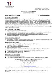 Physical Security Specialist Resume 100 Liaison Officer Resume Peace Officer Resume Template