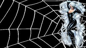 black spiderman comic wallpaper