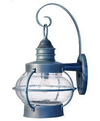 Antique Brass Outdoor Wall Lights by Hanover Lantern B8608 Bridgewater Small 10 Inch Wide 1 Light