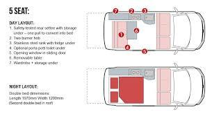 Conversion Van Floor Plans T5 Camper Race Van Conversions U0026 Hire Sporttec Sport Homes