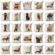 Decorative Christmas Pillows by Christmas Decorative Pillows Ebay