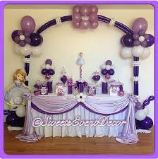 sofia the first table sofia the first birthday party ideas photo 6 of 9 catch my party