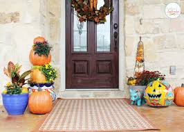 Fall Decorating Ideas by Outdoor Fall Decorating Ideas