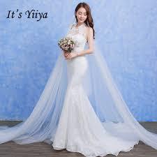 beading wedding dresses free shipping vestidos de novia lace white o neck beading wedding